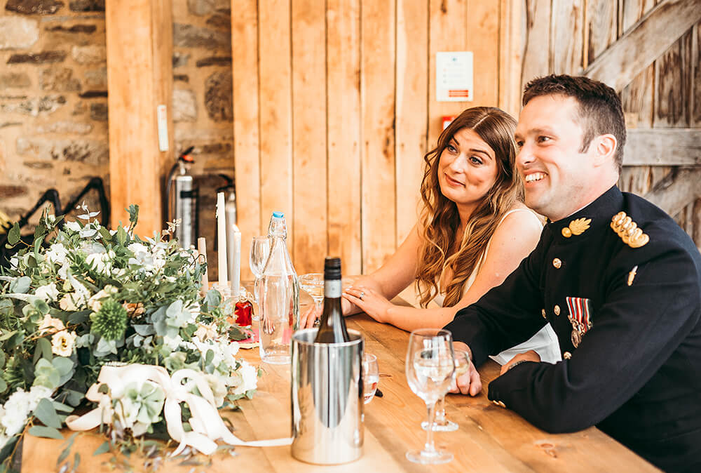 A military wedding at Trevenna Barns - Image 68