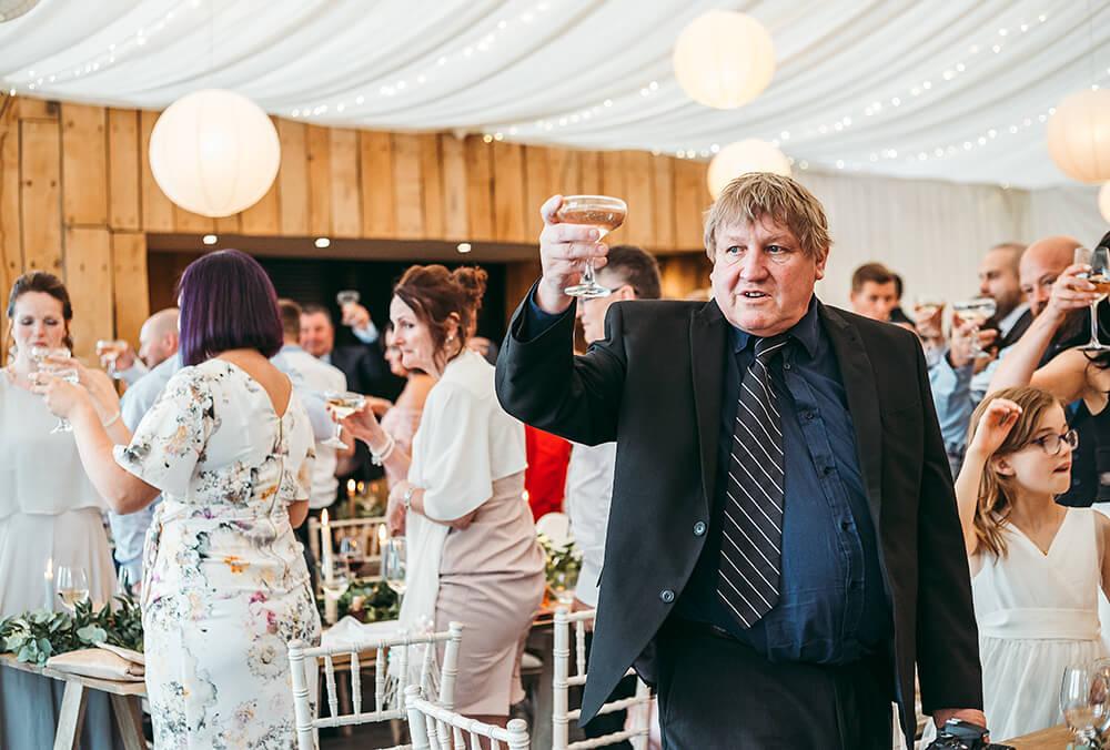 A military wedding at Trevenna Barns - Image 69