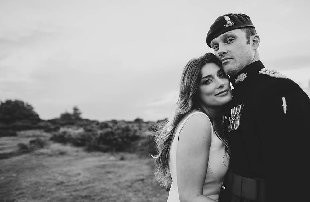 A military wedding at Trevenna Barns - Image 71