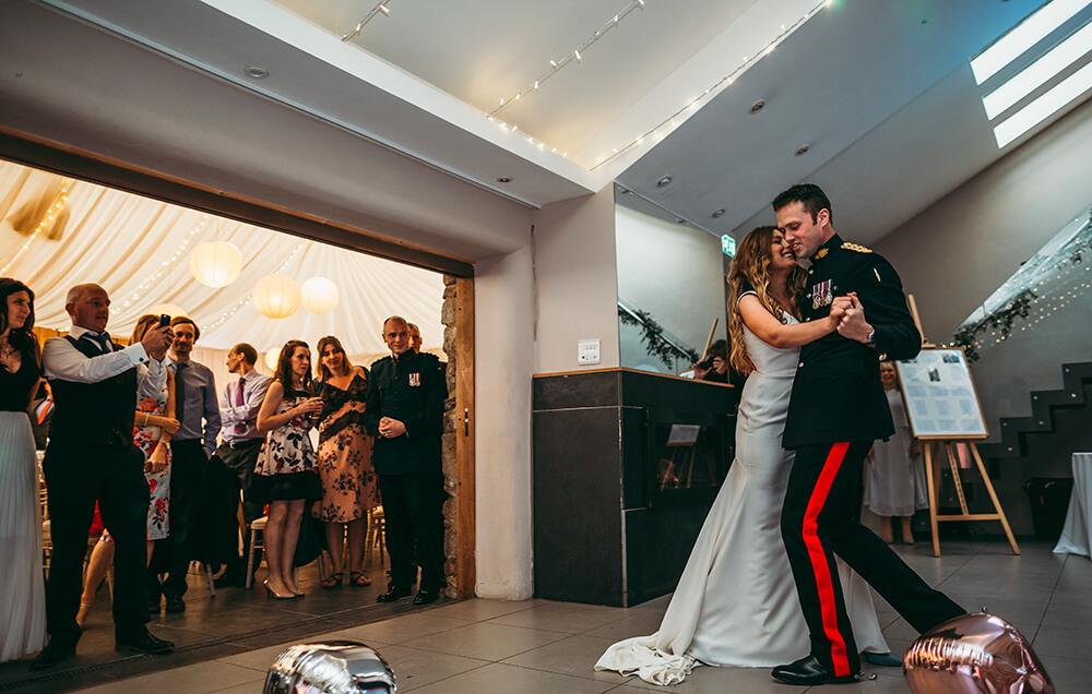 A military wedding at Trevenna Barns - Image 73