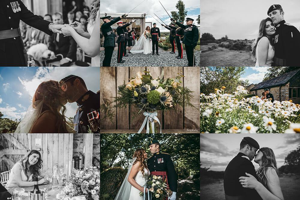 A military wedding at Trevenna Barns - Image 79