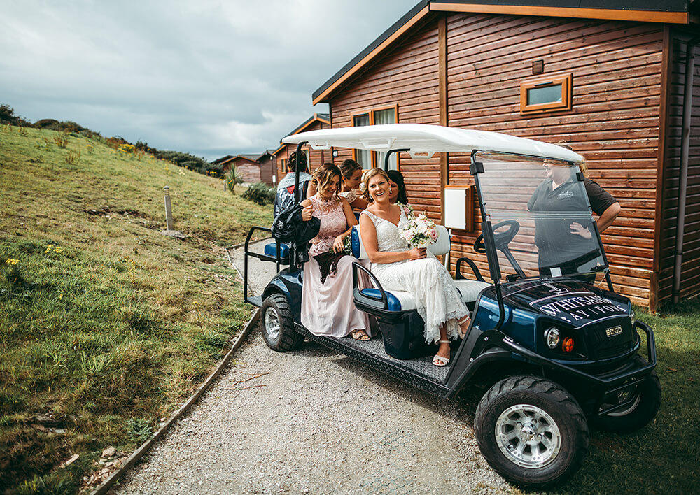 A coastal fort wedding at Whitsand Bay - Image 20