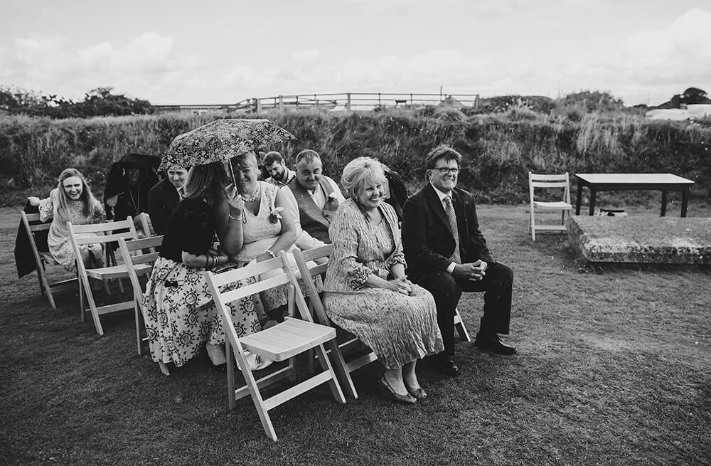 A coastal fort wedding at Whitsand Bay - Image 29