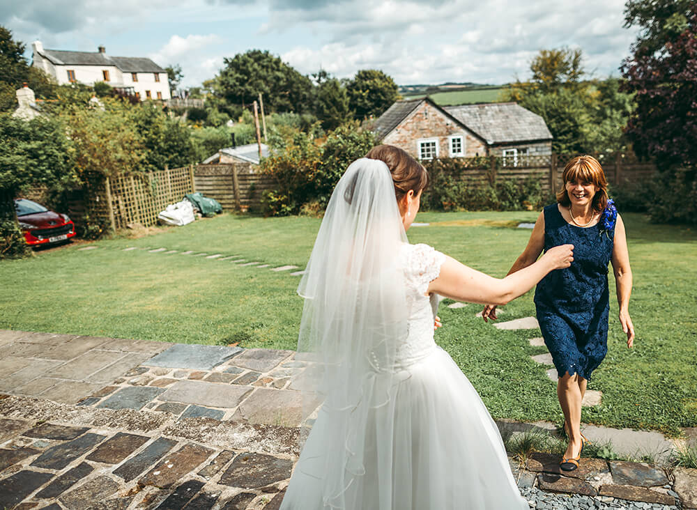 A flamingo farm wedding in Cornwall - Image 13