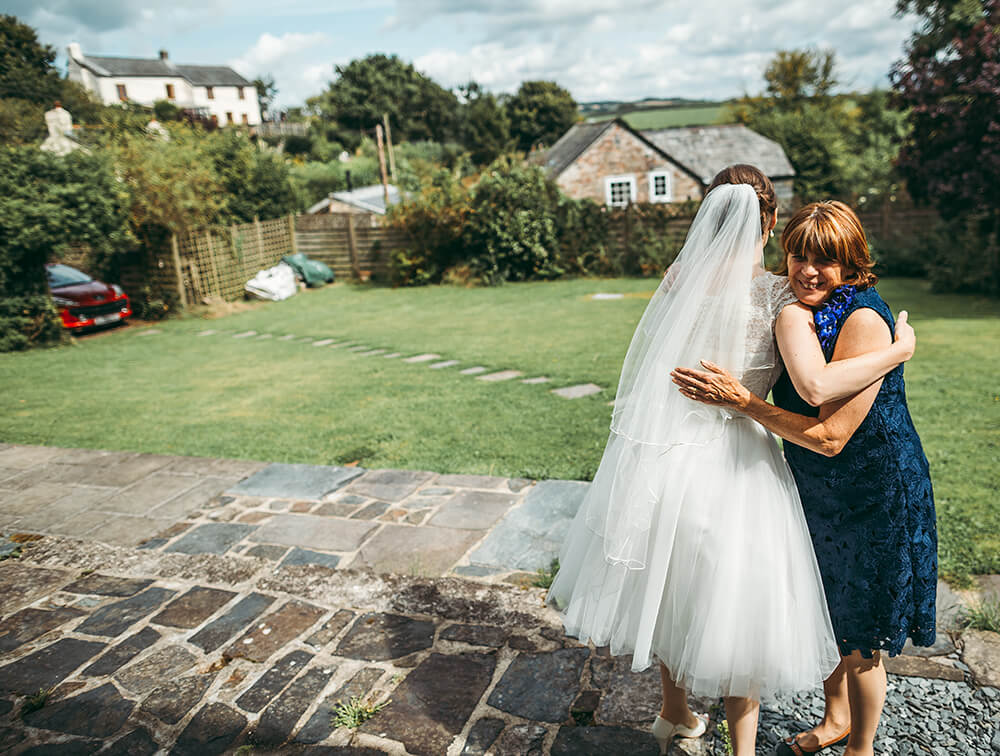 A flamingo farm wedding in Cornwall - Image 14
