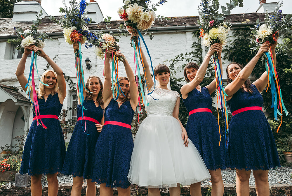 A flamingo farm wedding in Cornwall - Image 16