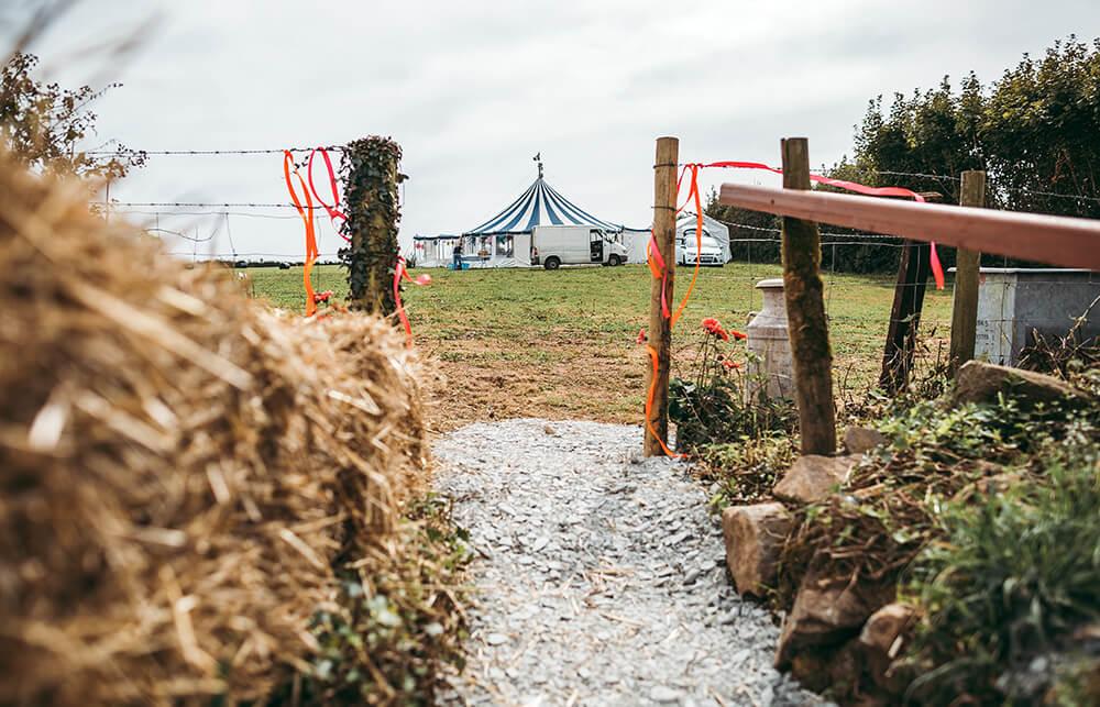 A flamingo farm wedding in Cornwall - Image 18