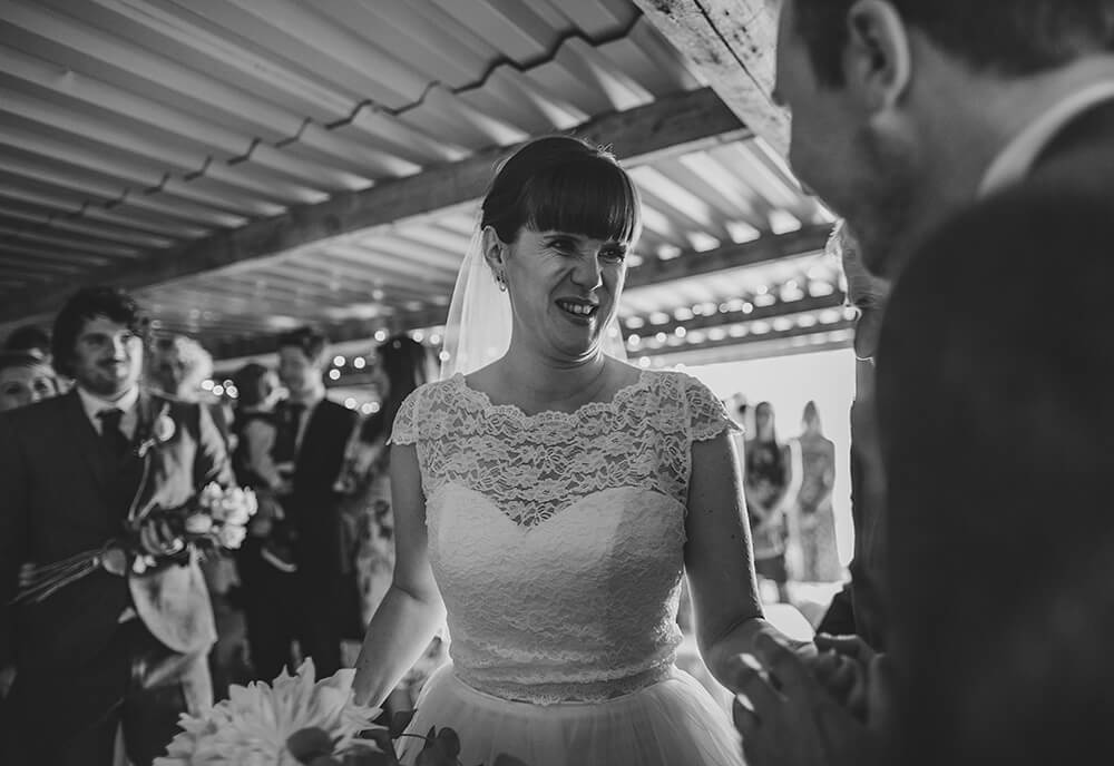 A flamingo farm wedding in Cornwall - Image 22