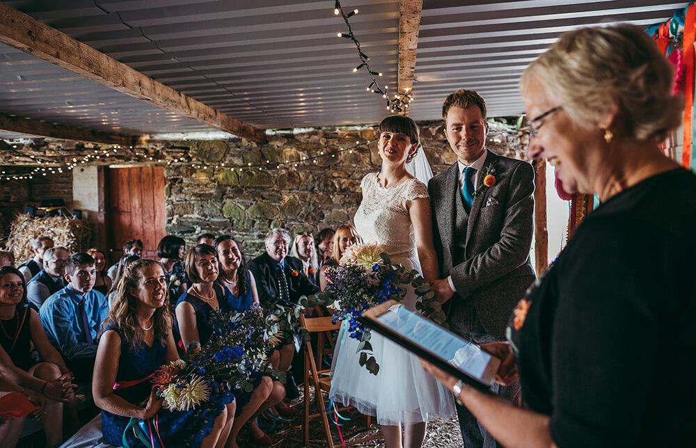 A flamingo farm wedding in Cornwall - Image 23
