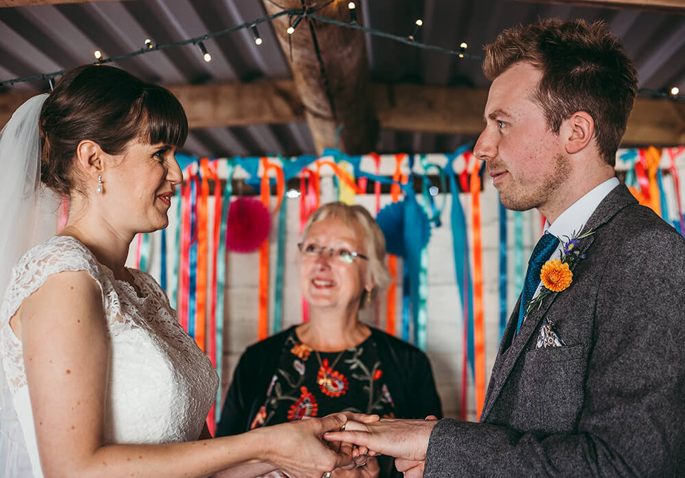 A flamingo farm wedding in Cornwall - Image 25