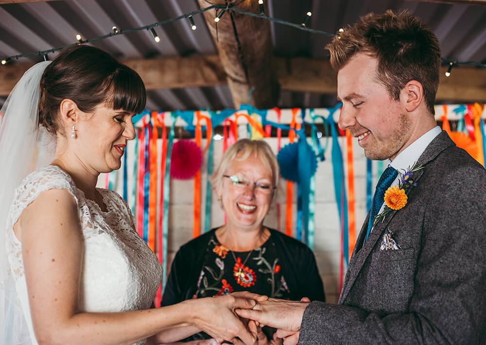 A flamingo farm wedding in Cornwall - Image 26