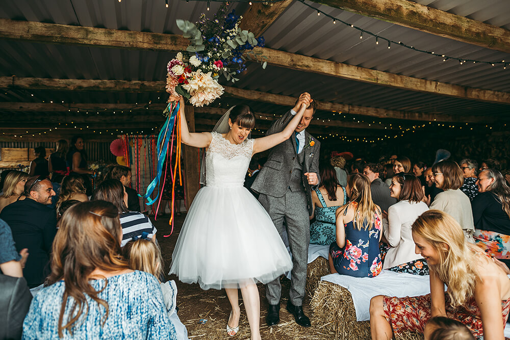 A flamingo farm wedding in Cornwall - Image 30