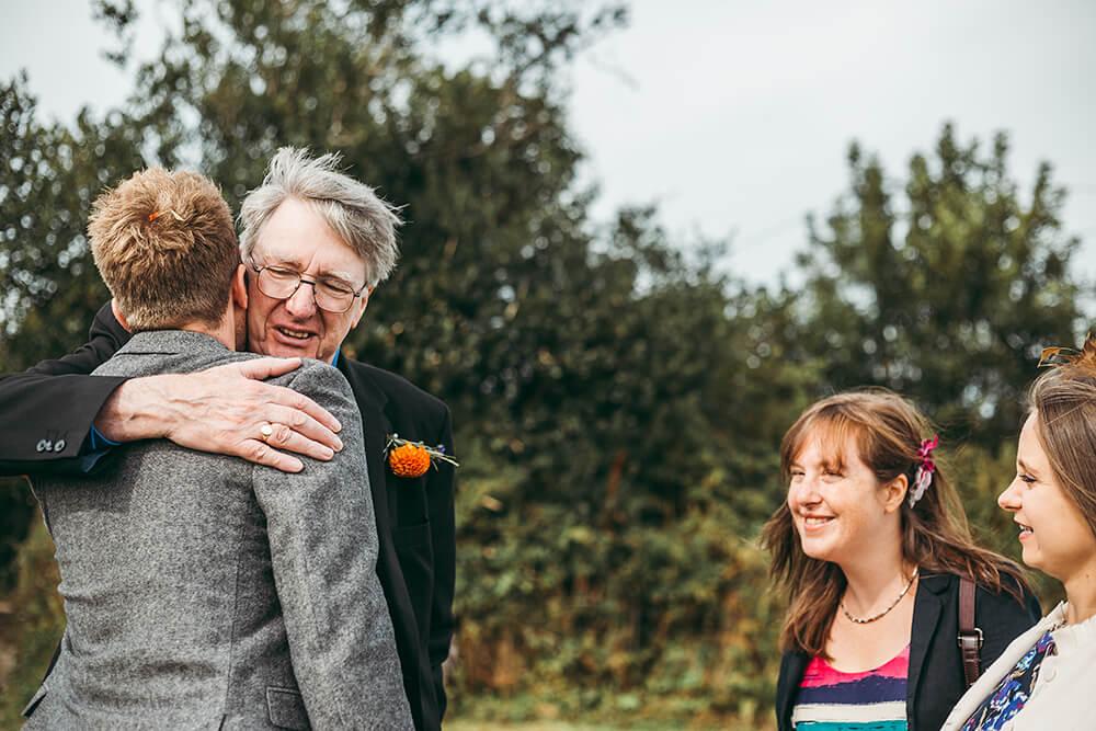 A flamingo farm wedding in Cornwall - Image 36