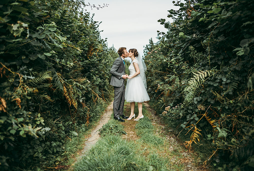 A flamingo farm wedding in Cornwall - Image 38