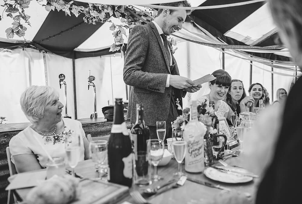 A flamingo farm wedding in Cornwall - Image 46