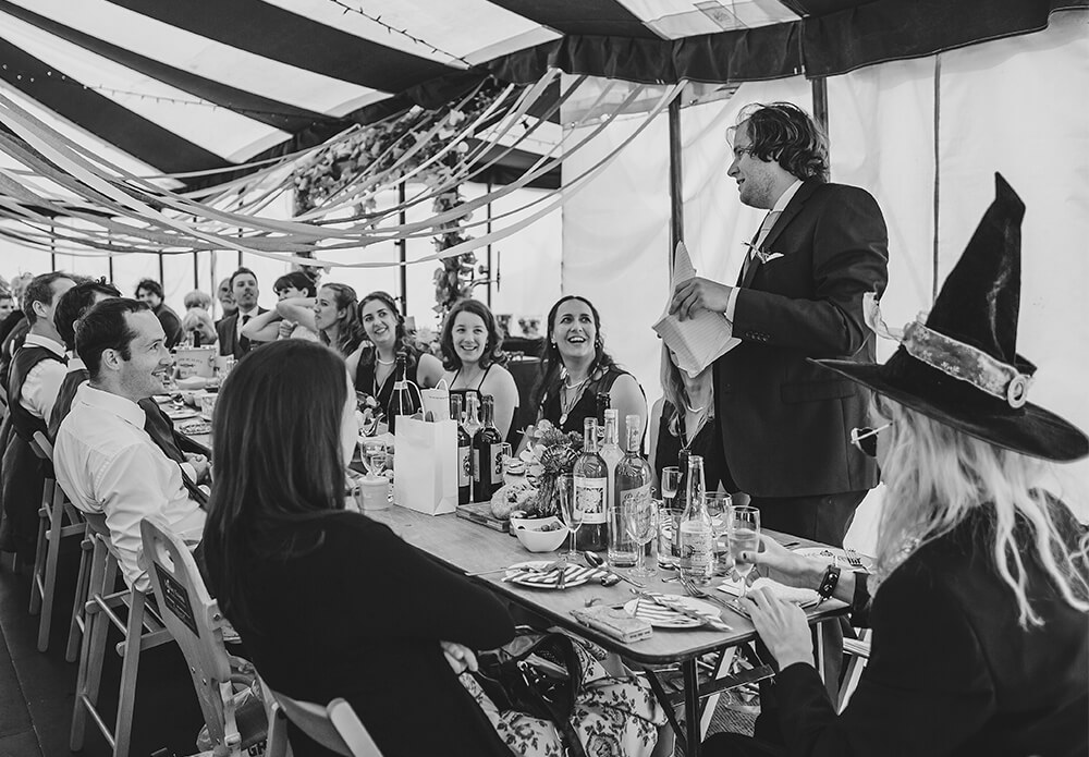 A flamingo farm wedding in Cornwall - Image 48