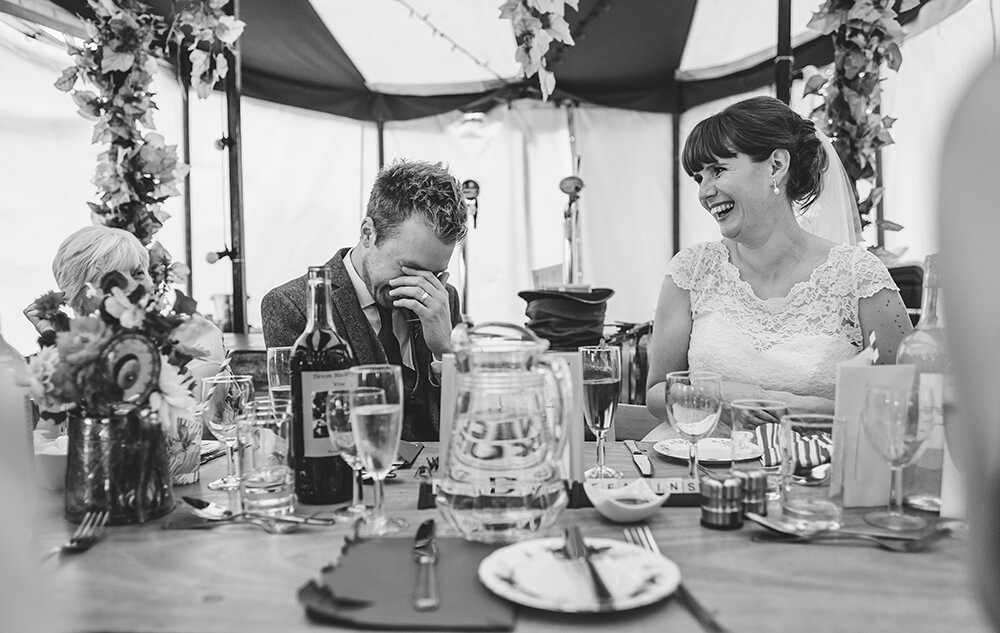 A flamingo farm wedding in Cornwall - Image 49