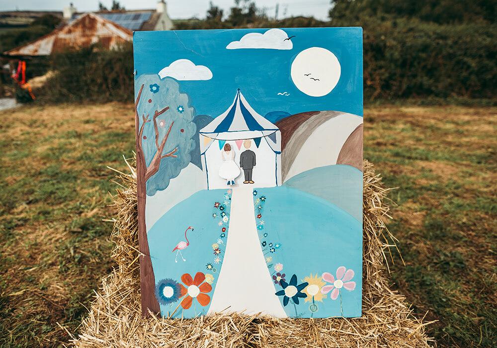 A flamingo farm wedding in Cornwall - Image 52