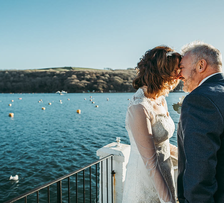 Nicki & Greg's boutique winter wedding in Fowey - A Preview