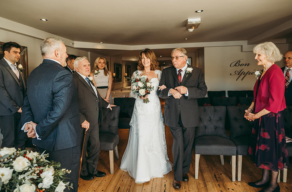 A Fowey boutique wedding at The Old Quay House Hotel - Image 12
