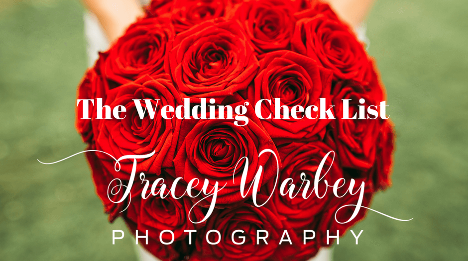 The Wedding Check List