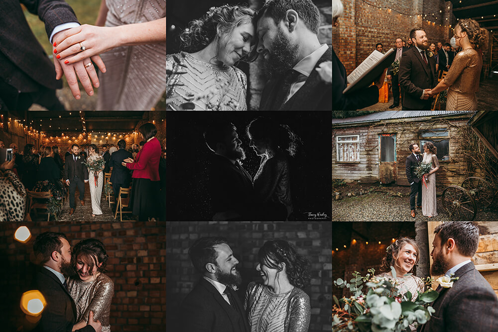 A really rustic barn wedding at The Green in Cornwall - Image 55
