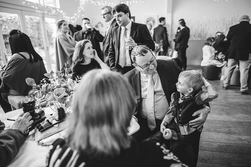 Sarah and Paul's rustic winter wedding at The Green in Cornwall - Image 20