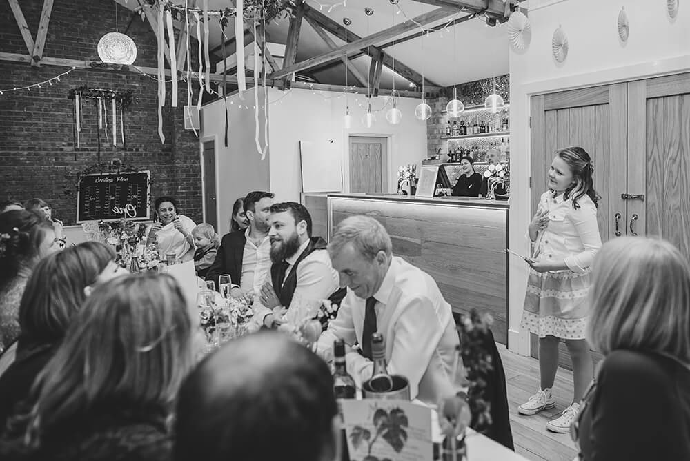 Sarah and Paul's rustic winter wedding at The Green in Cornwall - Image 48