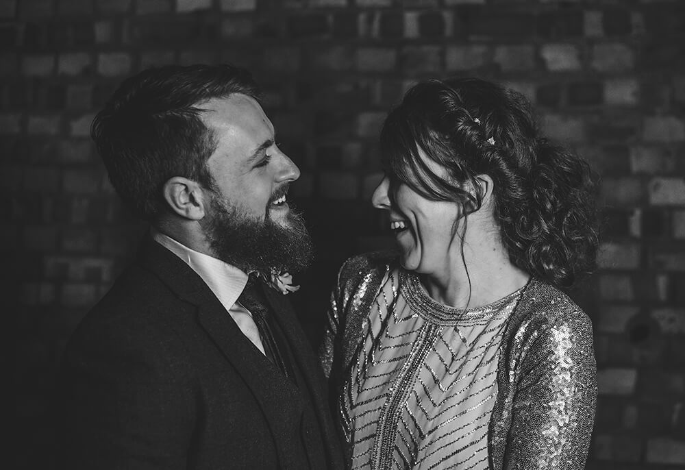Sarah and Paul's rustic winter wedding at The Green in Cornwall - Image 54