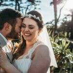 talland bay spring wedding in Cornwall
