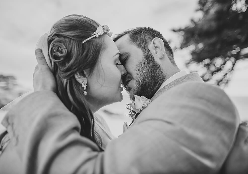 talland bay wedding in Looe, Cornwall