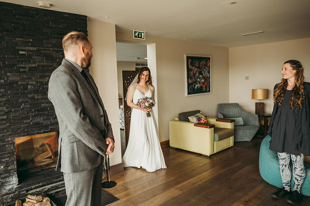 The Scarlet Hotel Cornwall spring wedding- Image 25
