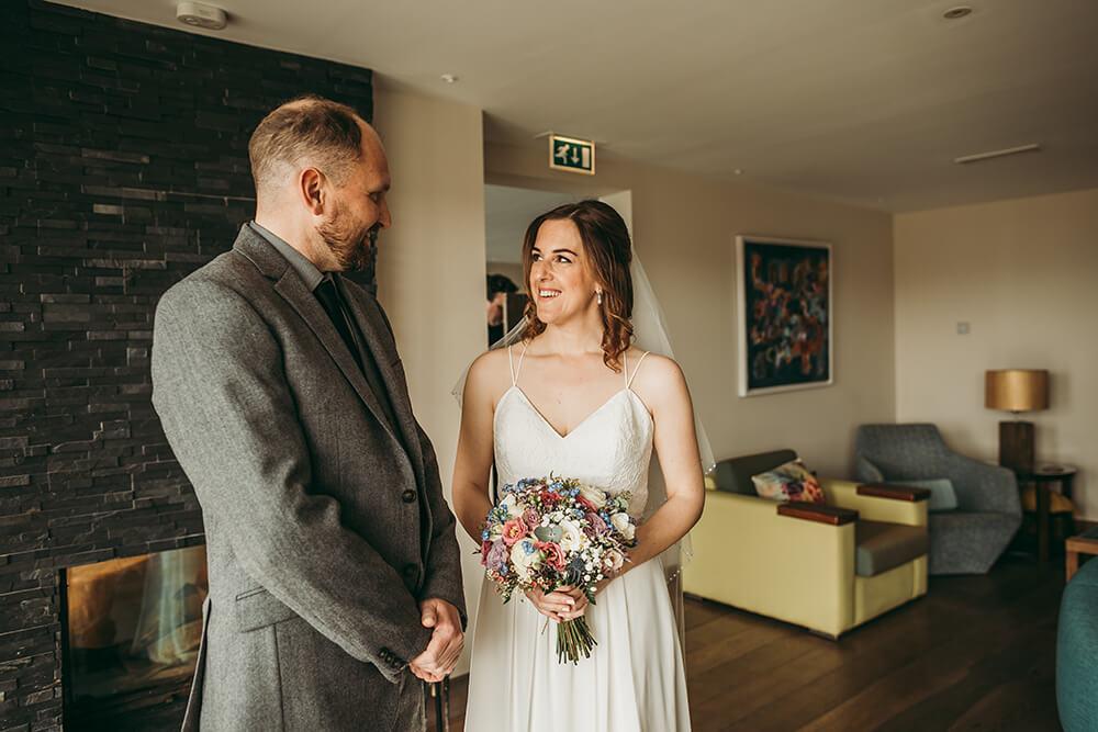 The Scarlet Hotel Cornwall spring wedding- Image 27