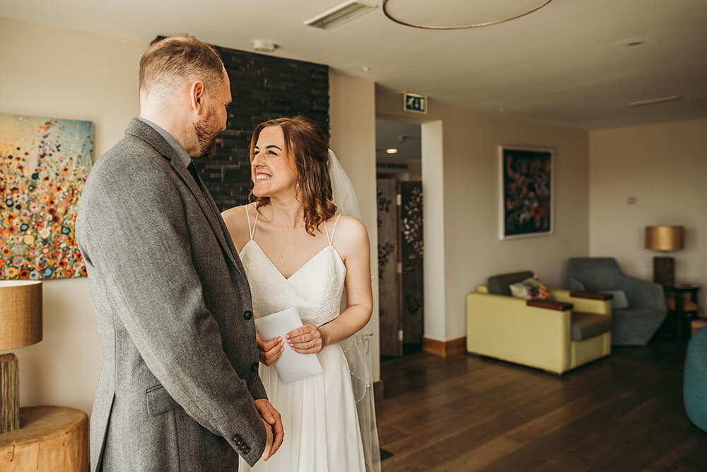 The Scarlet Hotel Cornwall spring wedding- Image 46