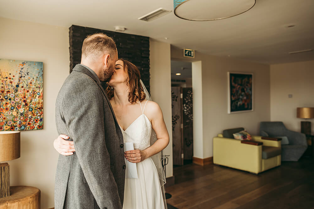 The Scarlet Hotel Cornwall spring wedding- Image 47