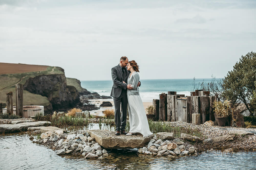 The Scarlet Hotel Cornwall spring wedding- Image 50