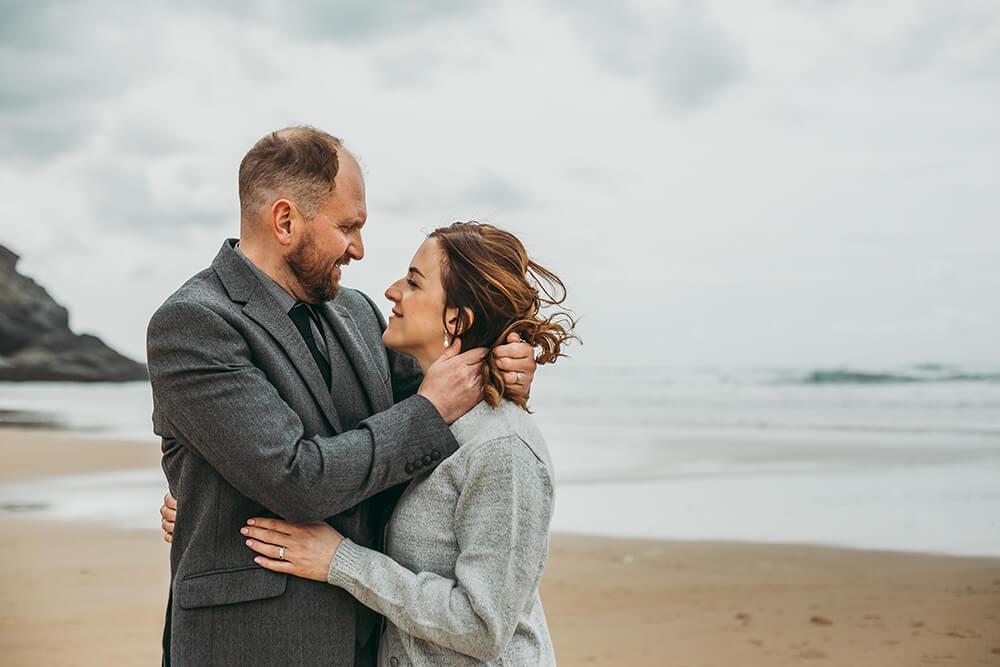 The Scarlet Hotel Cornwall spring wedding- Image 59