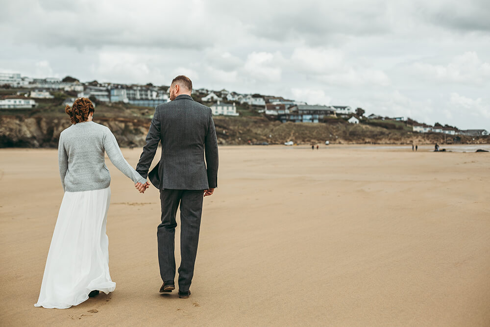 The Scarlet Hotel Cornwall spring wedding- Image 61
