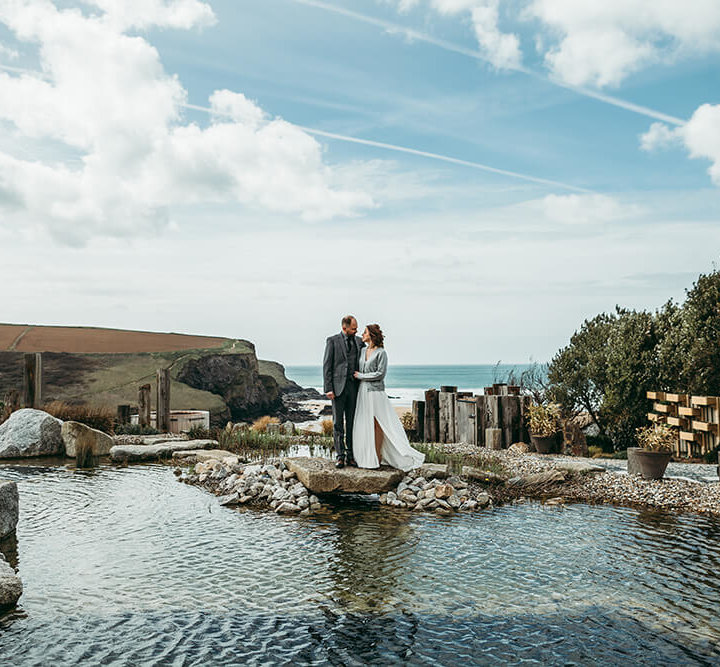 Sarah & Ben's intimate spring wedding at The Scarlet - A Preview