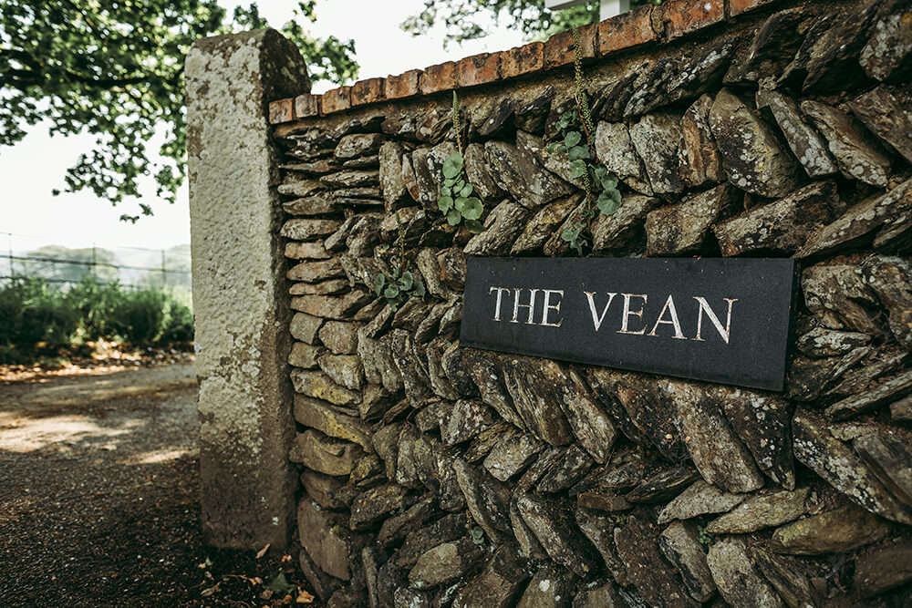 the vean wedding venue caerhays in gorran cornwall