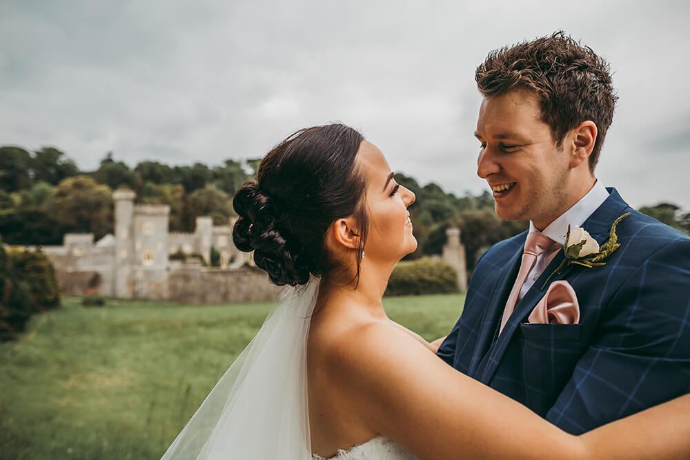 caerhays castle estate gorran cornwall wedding photography