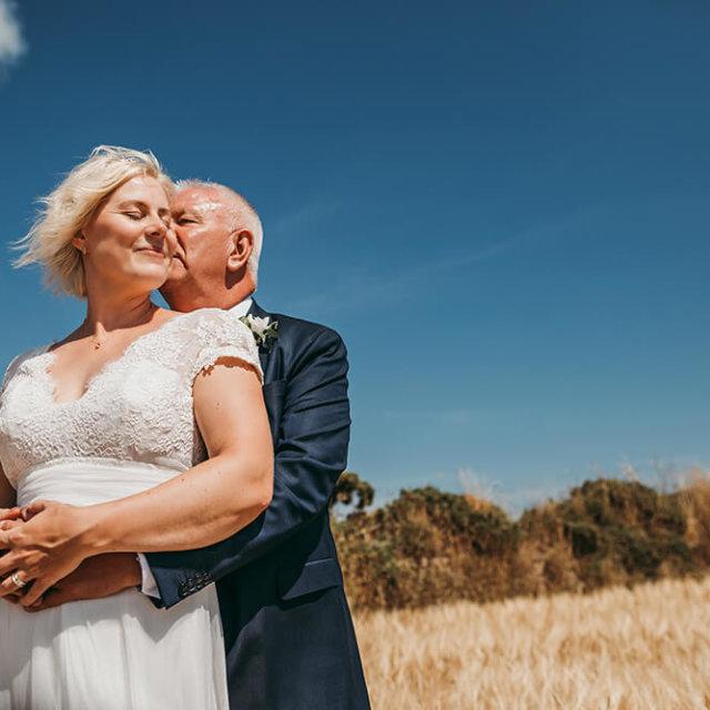 Georgina & Tom's Penzance wedding - A Preview