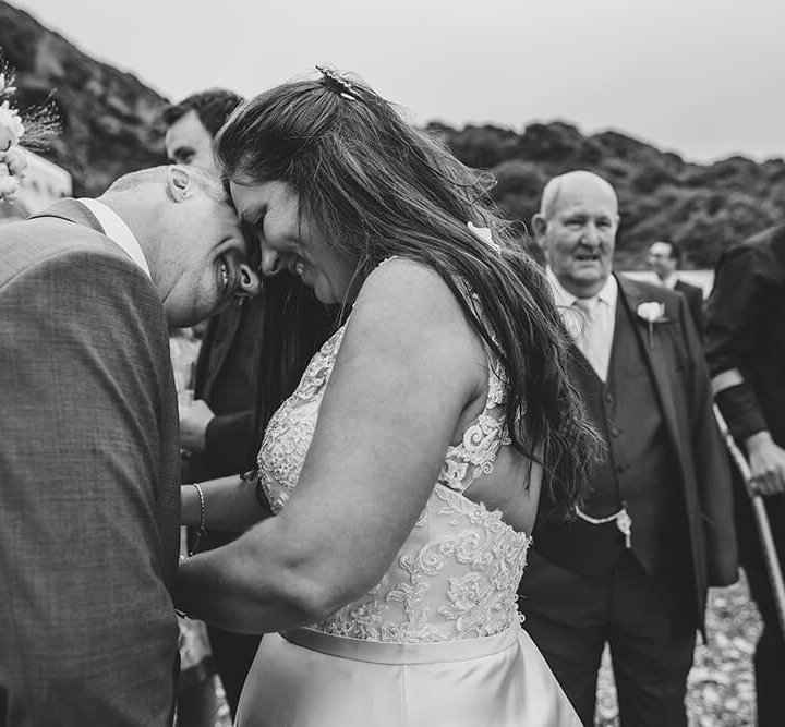 Andrea & Gary's wedding at Driftwood Spars - A Preview