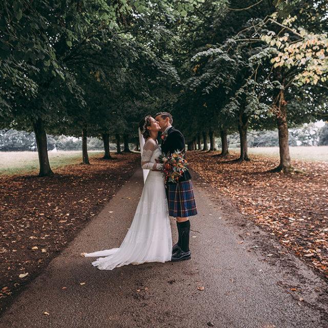 Jasmine & Joe's Pencarrow House wedding - A Preview