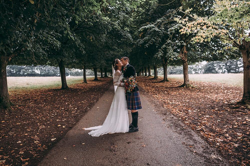 pencarrow house wedding photography
