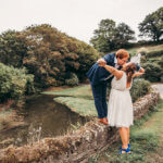 farm wedding cornwall