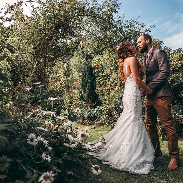 James & Steph's Streamcombe Farm Wedding