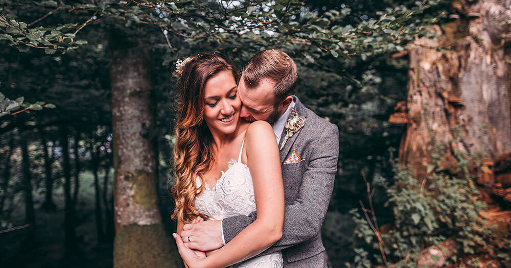 James & Steph's woodland wedding - A Preview