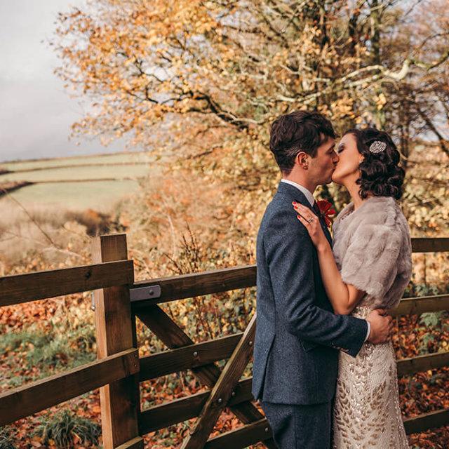 James & Lana's Autumn Wedding - A Preview