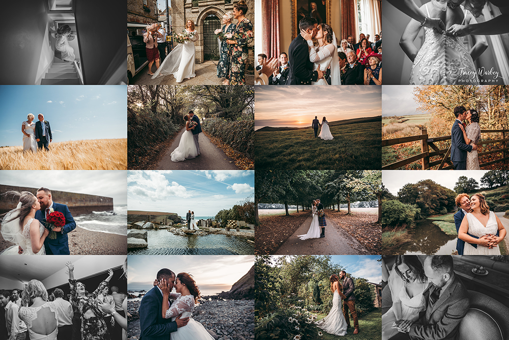 best devon and cornwall wedding photography 2018